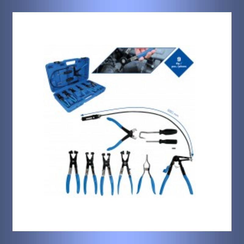 Schlauch, Bremsschlauch, Druckluftschlauch, Kraftstoffschlauch, Kühlerschläuche, Külerschlauch, Luftschlauch, Schlauchschellen, Schellen, Schauchschellenzange, Zange, Zangensatz, Schlauchschellenzangensatz