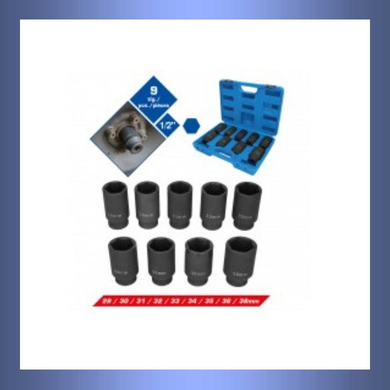 Antriebswelle, Antriebswellen, Nuß, Schlagschraubernuß, Stecknuss, Kraftstecknuss, Stecknussatz, Antriebswellenstecknuß, Antriebswellenstecknußsatz, Schlagschrauber, Schlagschrauberfest, Schlagschrauber geeignet,