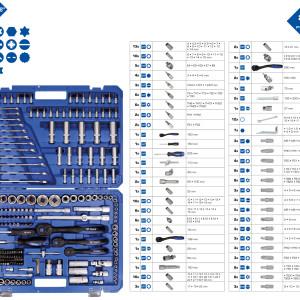 Steckschlüssel, Steckschlüsselsatz, Schlüssel, Knarre, Umschaltknarre, Ratsche, Steckgriff, Maulschlüssel, Ringschlüssel, Ringmaulschlüssel, Maulringschlüssel, Stecknuss, Torx, Torx E, Torx E Nuss, E4, E5, E6, E7, E8, E10, E11, E12, E14, E16, E18, PH, PH1, PH2, PZ. PZ1, PZ2, T8, T10, T15, T20, T25, T30, Torx mit Bohrung, TB8, TB10, TB15, TB20, TB25, TB30, , T55, T60, Bit, Bit PH, PH0, PH1, PH2, PH3, Kreuzschlitz, Kreuzschlitzbit, PZ, PZ0, PZ1, PZ2, PZ3, Bit-Adapter, Adapter, T Greiff, Gleitgriff, Magnetischer Bithalter,
