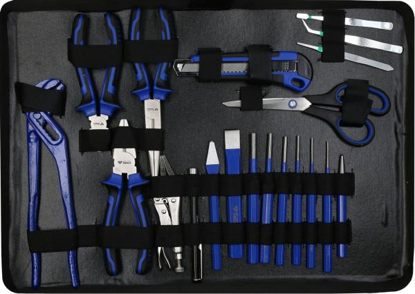 Koffer, Aluminiumkoffer, Werkzeug, Werkzeugkoffer, Werkstatt, Werkstattkoffer, Heimwerker, Knarre, Knarren, Umschaltknarre, Umschaltratsche, Ratsche, Stecknuss, Stecknussatz, Stecknüsse, Gleitgriff, Kardan, Kardangelenk, Verlängerung, Adapter, Gleitgriffadapter, Bit, Bitadapter, Schlosserhammer, Hammer, Maßband, Innensechskant, Innensechskantschlüssel, Winkelschlüssel, Torx, T10, T15, T20, T25, T27, T30, T40, T45, T50, Kreuzschlitz, Kreuzschraubendreher, Kreuzschraubenzieher, PÜH, PH1, PH2, Schlitz, Schlitzschraubendreher, Schlitzschraubenzieher, Schraubenzieher, Schraubendreher, Bit, Bithalter, Magnetischer Bithalter, Kreuzschlitzbit, PZ, PZ1, PZ2, PZ3, PH, PH1, PH2, PH3Torx, T10, T15, T20, T25, T27, T30, T40, Messer, Abbrechmesser, Spannungsprüfer, Wasserwaage, Aluwasserwaage, Aluminiumwasserwaage, Zanmge, Zangen, Rabitzzange, Wasserpumpe, Wasserpumpenzange, Schere, Universalschere, Kombizange, Terlefon, Telefonznge, Schneider, Seitenschneider, Rollgabel, Rollgabelschlüssel, Kabel, Kabelschuh, Klemmzange, Kabelschuhklemmzange, Säge, Sägebogen, Sägeblatt, Sägeblätter, Ringmaiulschlöüssel, Maulringschlüssel, Ringschlüssel, Maulschlüssel, Sprengring, Sprengringzange