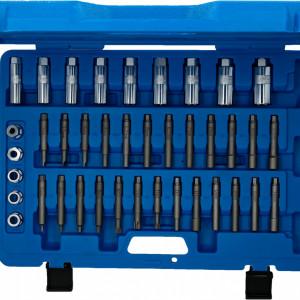 Stoßdämpfer, Werkzeug, Stoßdämpferwerkzeug, Stoßdämpfer Werkzeug, Federbein, Federbeinlager, Schrauben, Schraubenfeder, Kolbenstange, Stoßdämpferkolbenstange,