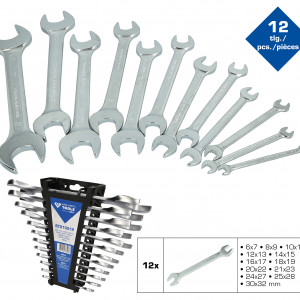 Maulschlüssel,Doppelmaulschlüssel,Maulschlüsselsatz,Doppelmaulschlüsselsatz,Chrom Vanadium,Chrom Vanadium Stahl