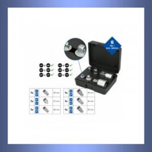 Adapter,Adaptersatz,Werkzeug,Aussenvierkant,Innenvierkant,Chrom-Vanadium-Stahl,verchromt,Brilliant Tool,